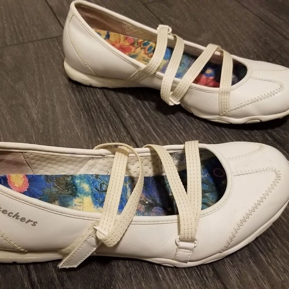 Skechers Shoes | Skechers Strappy White